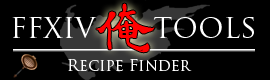 final fantasy xiv recipe finder